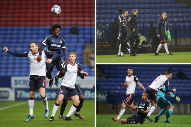 Frustrated - Southend United lost 3-0 at Bolton Wanderers
