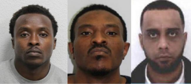 WANTED: Police search with three men in connection with brutal drive-by shooting