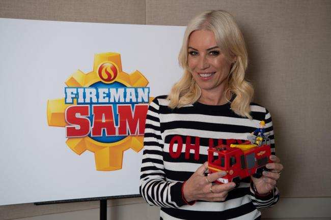 Actress - Denise Van Outen has a role in the new feature length episode of Fireman Sam