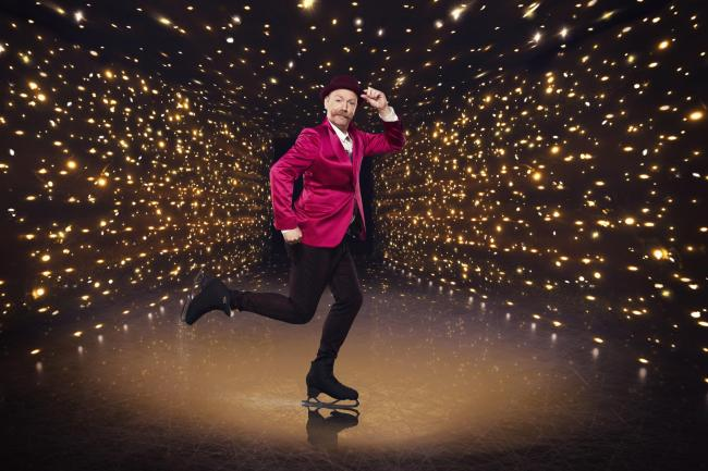 Dancing On Ice contestant Rufus Hound