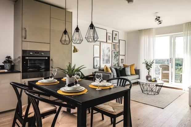 Echo: The new development - how one of the apartments look