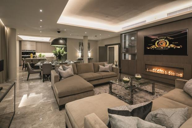 Echo: Relaxing and modern - the beautiful sitting room