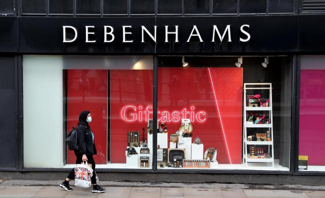 Debenhams started a huge closing down sale last year but is expected to reopen some shops next week