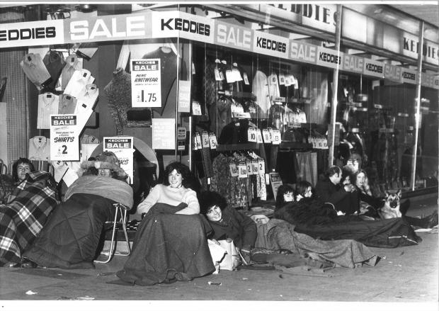 Echo: Popular - Keddies traded on Southend High Street for 104 years before closing its doors in February 1996