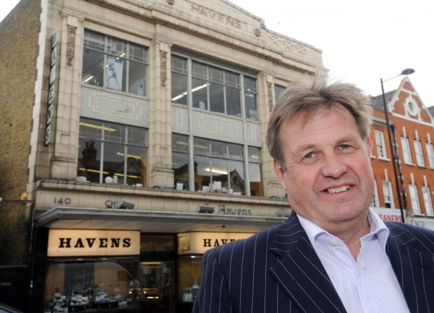 Echo: In the family - Nigel Havens' great-grandfather opened homeware specialist store Havens on Hamlet Court Road, Westcliff, in 1901