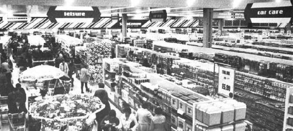 Echo: Jam-packed - Basildon's beloved SavaCentre welcomed 18,000 customers on its opening day in March 1980