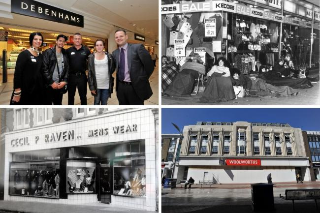Gone but not forgotten - some of our favourite high street retailers