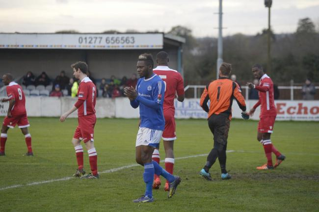Big chance - former Billericay Town striker Mike Fondop has landed a move to League One outfit Burton Albion
