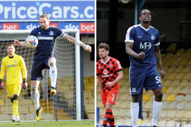Back together - Nile Ranger has teamed up with John White (left) at Southend United once again