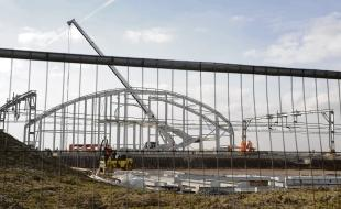 Construction in progress – the new railway station for Southend Airport