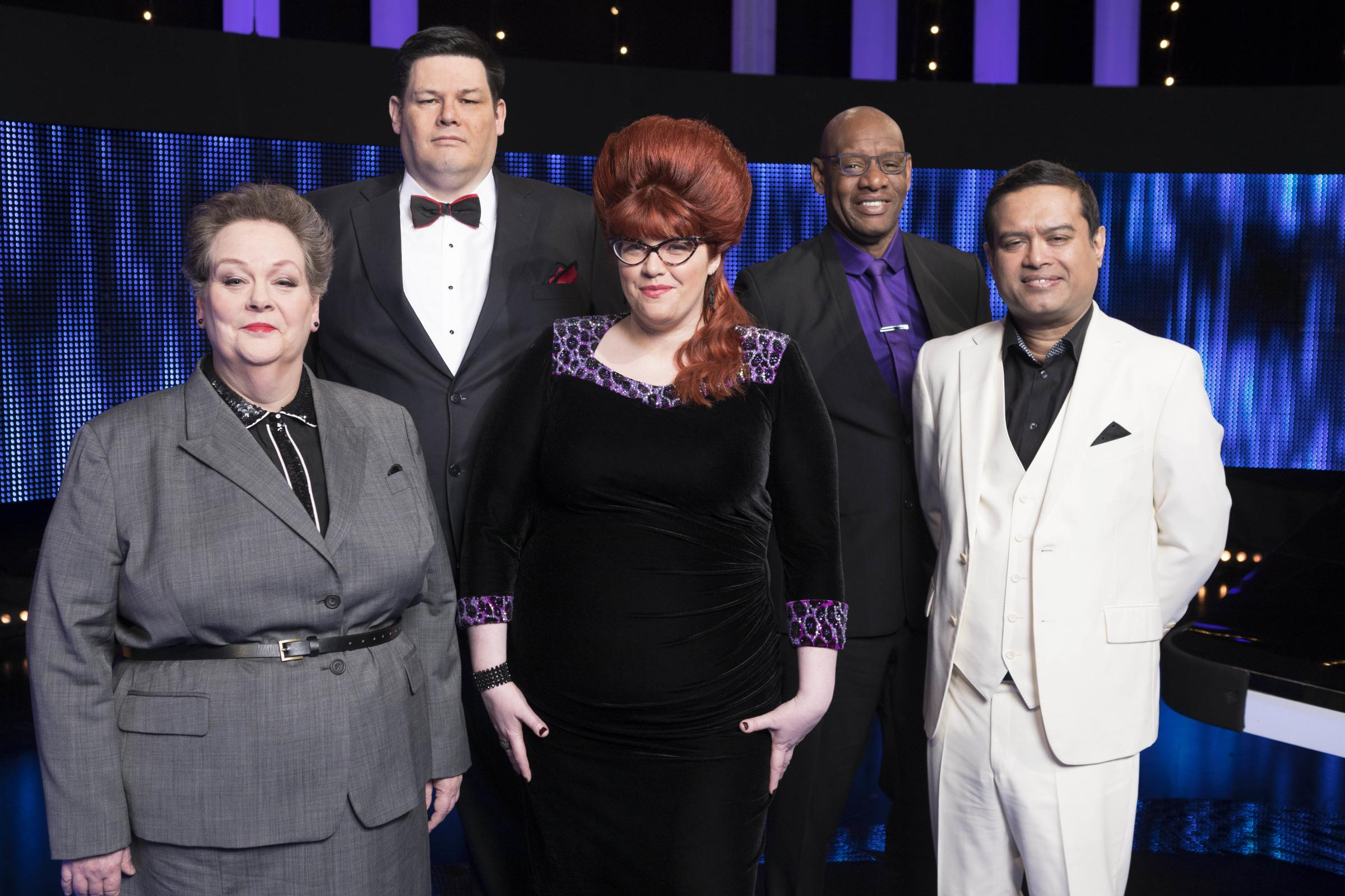 The Chasers. Picture: ITV/ Gary Moyes