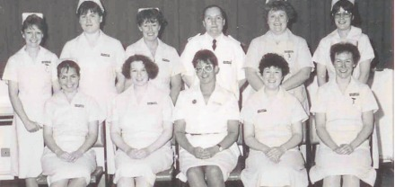 Ready for action - Southend Hospital's new nursing intake of 1989