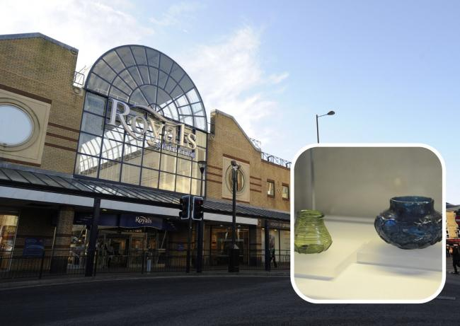 Sale - The Royals Shopping Centre and artefacts discovered in Prittlewell