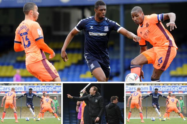 Beaten - Southend United lost 2-0 to Carlisle United at Roots Hall