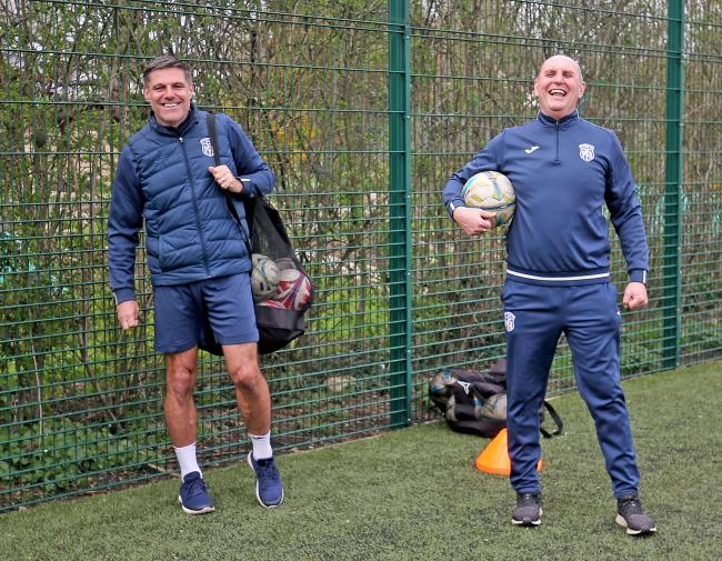 Back together - Steve Tilson is working alongside Paul Brush once again  Pictures: NICKY HAYES