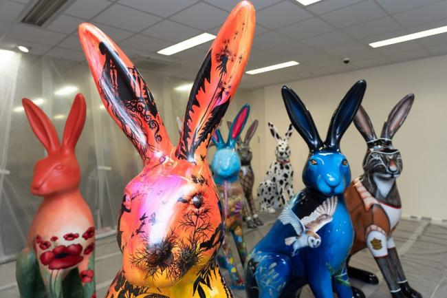All in the detail - 30 hares will adorn Southend's seafront and streets this summer