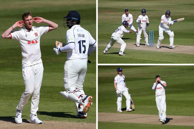 Beaten - Essex suffered a seven wicket defeat at Edgbaston Pictures: GAVIN ELLIS