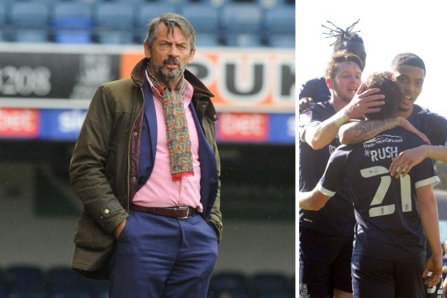 Determined - Phil Brown wants a strong display from Southend United at Barrow this weekend