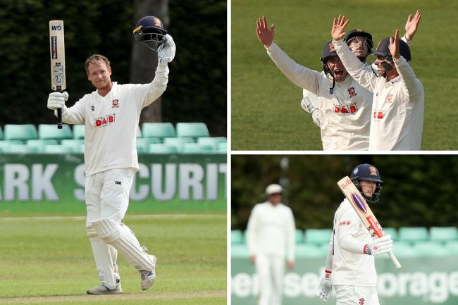 In fine form - Essex registered their highest score in the LV=Insurance County Championship for five years