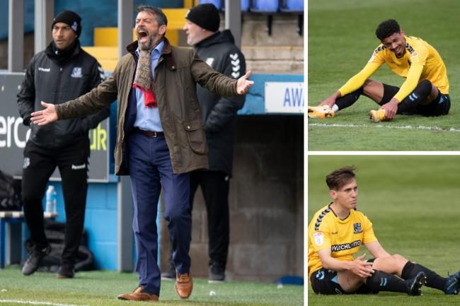 Disappointed - Phil Brown has been unable to keep Southend United in the Football League