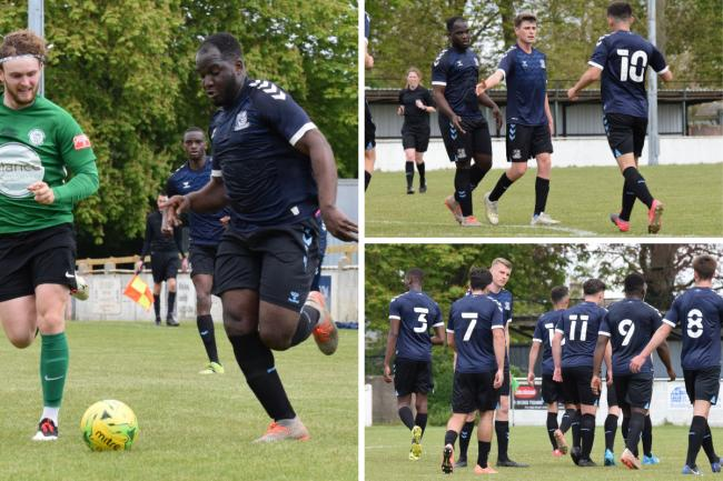 Good win - Southend United's under 23 side won 2-0 at Soham Town Rangers on Saturday Pictures: ROB CRAVEN