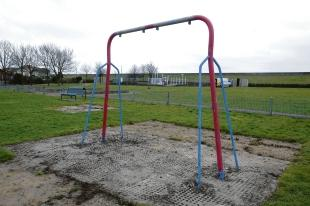 Out of action – play equipment for younger children
