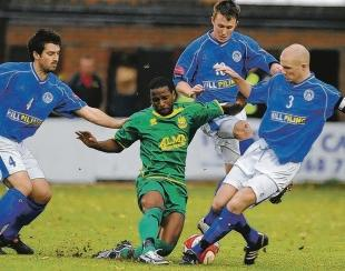 Lee Kersey, left, has opted to return to Billericay rather than move to rivals Concord.
