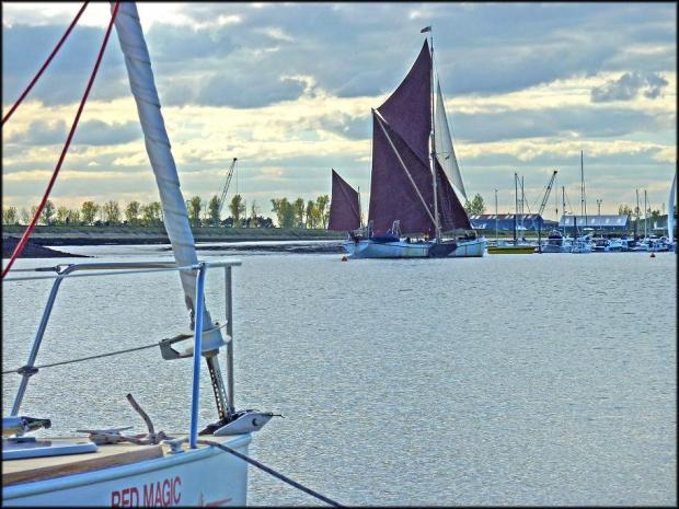 Thames Barge Match this weekend