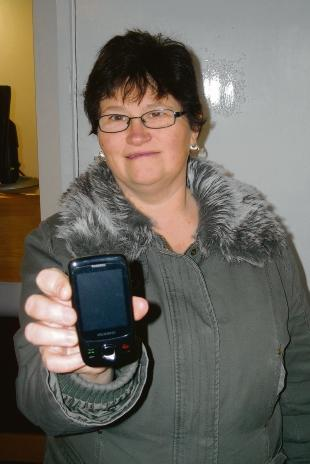 Appalled – Martine Greenwood, 43, of Canvey, found lewd videos on a mobile phone she had just bought for her son Aaron