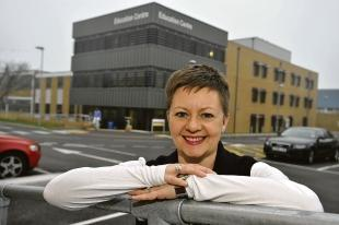Echo: New hospital chief  Jacqueline Totterdell