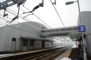 Airport rail stationis now open