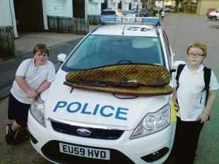 Praised by police – Kane Blackmore and Callum Wallis-Sheldon