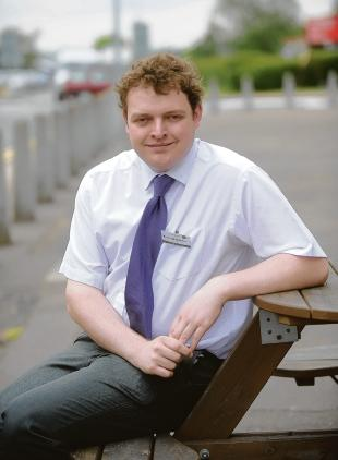 Andrew Gordon – borough's youngest councillor
