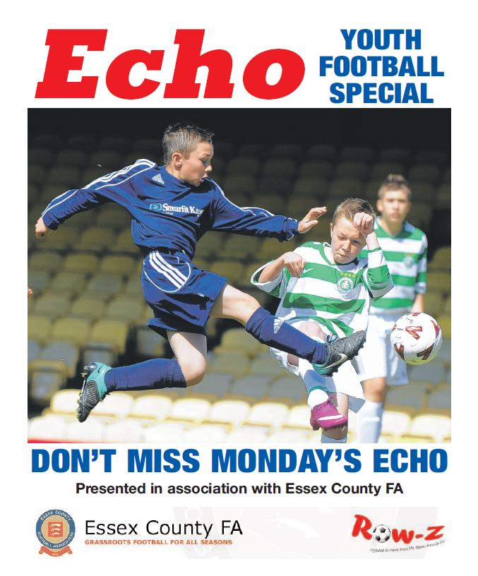 Don't miss your Echo youth football special on Monday