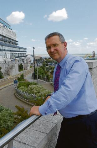 Aspirations - Southend Council leader Nigel Holdcroft wants to attract investment