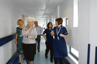 Echo: Concern – Thurrock MP Jackie Doyle-Price has voiced strong opinions on Basildon Hospital