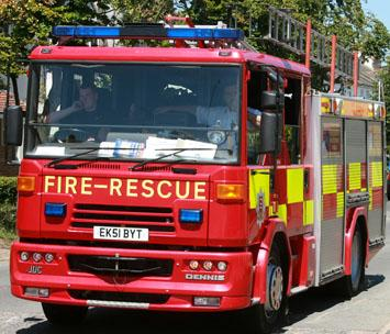 Council tax for fire service frozen for a fourth year