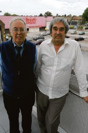 Paul Slennett and Jack Higgs-Wilson, Southend shop owners
