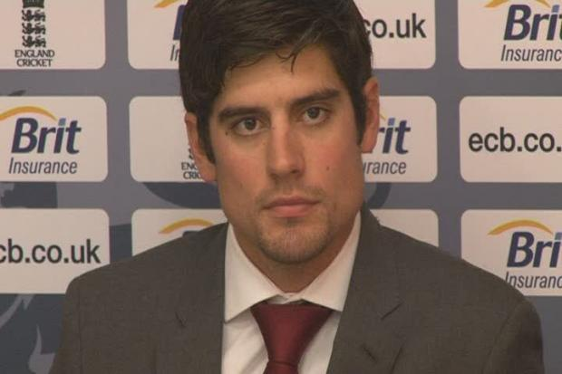 Alastair Cook - named today as England's new Test captain