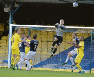 Daniel Bentley - made his Blues debut against Torquay United on Saturday