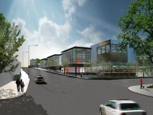 Echo: An artist's impression of the Sainsbury's at Roots Hall