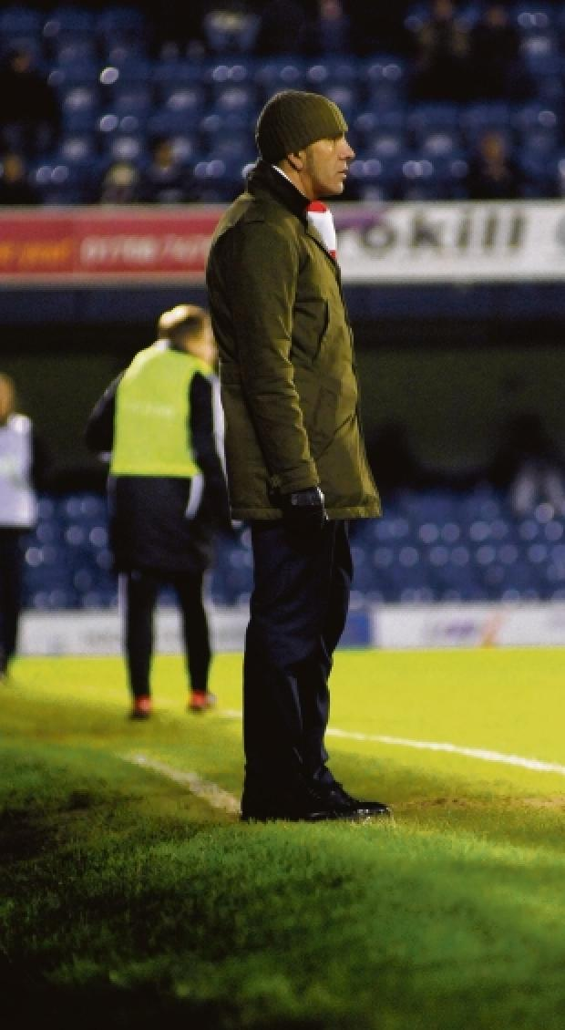 Opinionated - Paolo Di Canio at Roots Hall during his side's win in the Johnstone's Paint Trophy