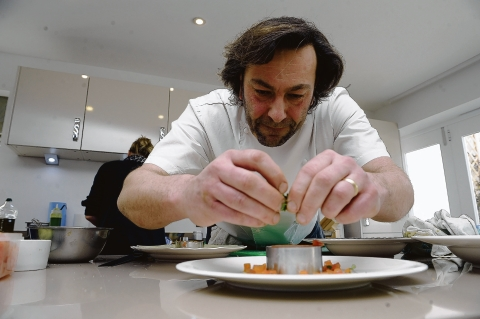 Celebrity chef – Mark Baumann is to open a new Bourgee