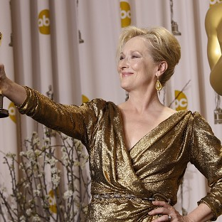 Streep, The Artist win at Oscars