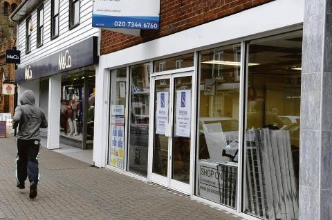 Moving in – the shop in Billericay High Street which will become WH Smith