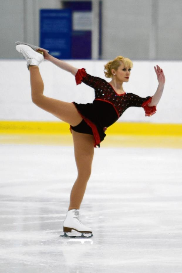 Ice one — Lulu Alexandra skating her way to two British titles