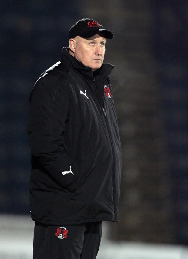 Echo: Russell Slade - believes Leyton Orient can still beat Southend United and reach Wembley