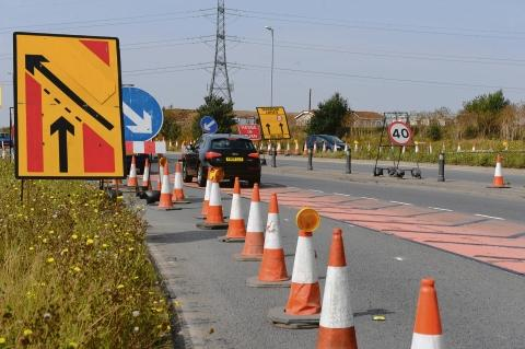 A13 shutdown between Pitsea and Sadlers Farm