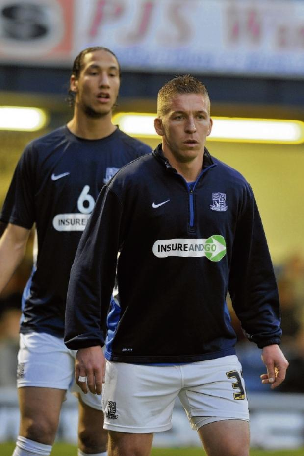 Freddy Eastwood - will have an injection on his knee after Saturday's game at Torquay