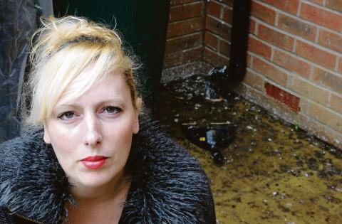 Shocked – Claire Turl was distressed by the pigeon cull